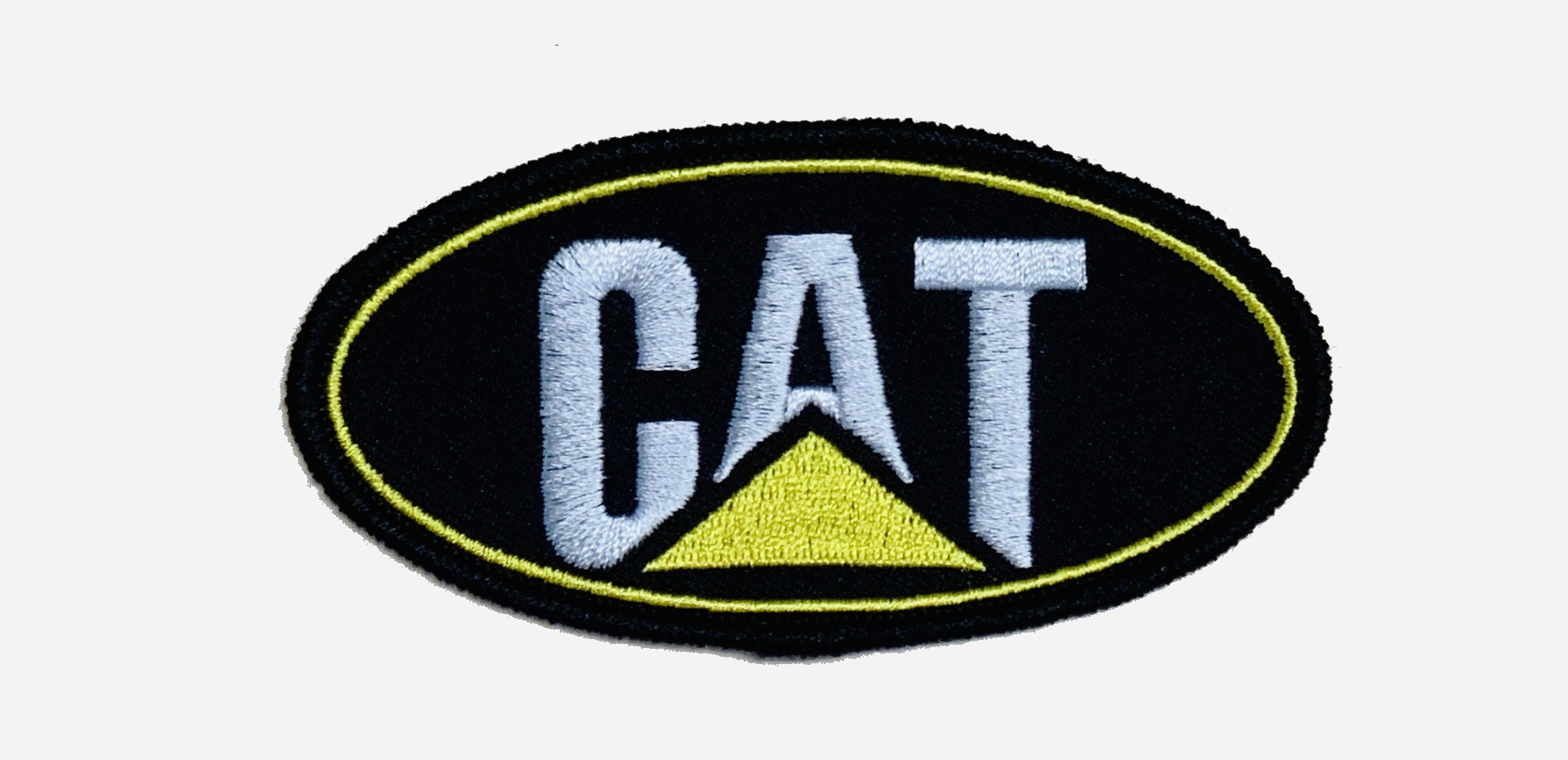 Vintage style cat caterpillar logo